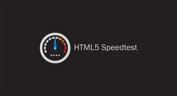 HTML5 Speedtest